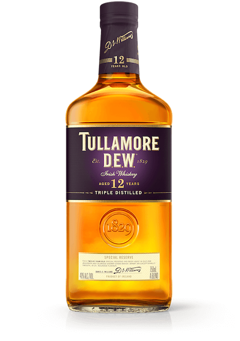 12 YEAR OLD SPECIAL RESERVE TULLAMORE DEW IRISH WHISKEY