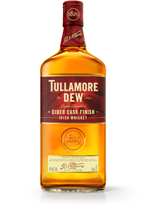 CIDER CASK FINISH TULLAMORE DEW IRISH WHISKEY
